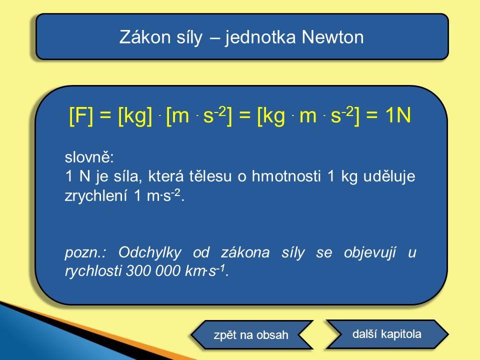 [F] = [kg] . [m . s-2] = [kg . m . s-2] = 1N